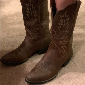 Ariat women's heritage cowgirl boots